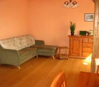 Wohnzimmer mit Soafecke